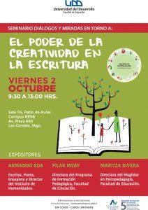 Afiche seminario SCL