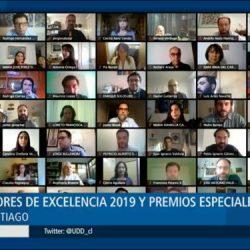 [Noticia] Educación UDD y Profesores de Excelencia 2019 fueron reconocidos en ceremonia online